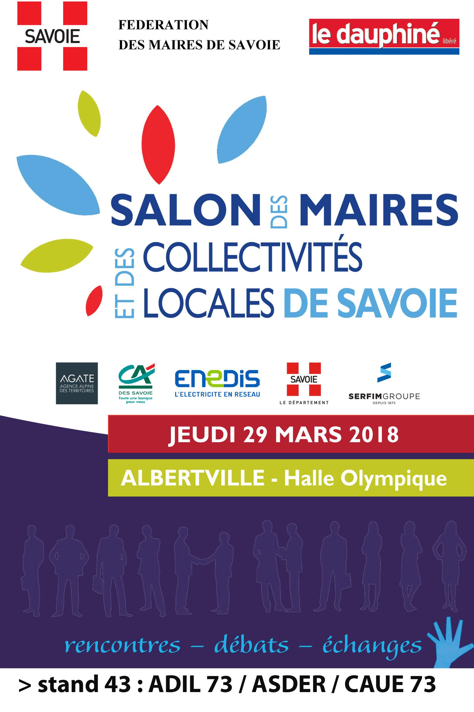 1er salon des maires et collectivit s locales de savoie for Salon maires
